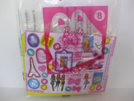 2014 McDonalds - #8 Activity Book - Barbie Life in Dreamhouse